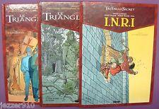 LOT 4 BD - LE TRIANGLE SECRET n°1-2 - INRI I.N.R.I. n°1-3 - GLENAT