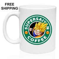 Supersaiyan Coffee, Goku, Dragon Ball ,  Gift, Mug 11oz