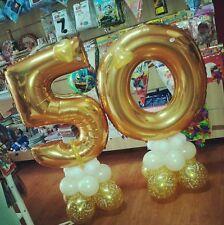 Kit composizione fai da te 50 anni matrimonio 101 base dipalloncini anniversario