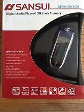 SANSUI MPS1000-1GB  MP3 Player 1GB Flash Memory