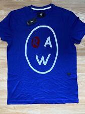G Star New Mens Regular Fit Blue Large T Shirt RRP £25