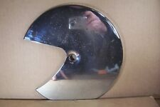 HONDA GL1100 GOLDWING , FRONT BRAKE ROTOR  COVER , Right Side , Custom Chrome