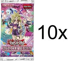 Yu-Gi-Oh! 10x English Legendary Duelists Sisters Of The Rose Booster pack NEW