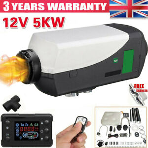12V Air Diesel Night Heater 2KW-5KW Remote LCD Display For Car Truck Motor Home