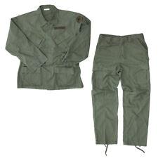 US Army Feldjacke Vietnam M64 Suit R/S Fieldjacket Trouser Feldhose Erdl SW Gr L