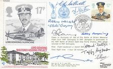 FDC RAF(AC)29 Lord Dowding housing project signed by 10 Battle of Britain Vets
