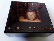 """FRANCISCO """"A MI MANERA 25 AÑOS"""" 4CD 60 TRACKS BOX SET PRECINTADO SEALED"""