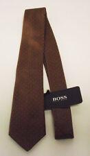 Hugo Boss Krawatte, braun, L = 146 cm, NEU, UVP 59,95€