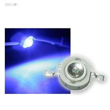 50 Highpower LEDs 1 Watt Blau, 1W blaue High Power SMD LED, 350mA 1 W blue bleu
