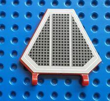 Lego x1435pb001 dark red Hexagonal Flag 5 x 6. From set 7283 star wars