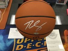 BEN SIMMONS Signed Autograph Official NBA Game Basketball UD Authentic Auto