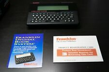 Franklin Computer Language Master Dictionary Thesaurus Lm-2000 Merriam-Webster