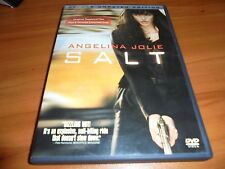 Salt (DVD, 2010, Unrated; Deluxe Widescreen) Angelina Jolie Used