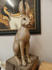 Extra Large Sitting Hare Statue Sculpture  Animal Figurine Ornament 63 cm