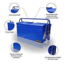 65 PRO herramientas herramienta portátil voladizo US Pecho Caja Bandejas De Almacenamiento Garaje Azul