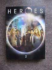 HEROES SEASON 2 DVD 4 DISK SET