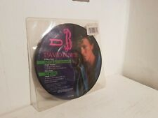 DAVID BOWIE NEVER LET ME DOWN /87 & CRY 1987 7INCH PICTURE DISC