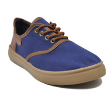 Tanggo Kylle Low Cut High Quality Men's Rubber Shoes (navy blue/brown) Size 41