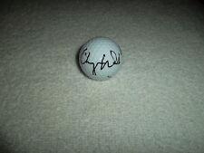 Cheyenne Woods Hand Signed Titleist Golf Ball Signature LPGA Autograph
