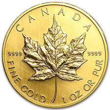 2004 Canada 1 oz Gold Maple Leaf BU - SKU #40