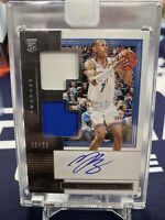 2019-20 Panini One and One Rookie Dual Jersey Autograph Darius Bazley AUTO 75/99