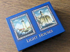 LIGHT HOUSES CARD BOX/sturdy box for storage/cards/nick-nacks/lighthouse/the sea