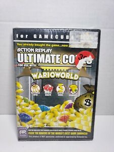 Brand New Sealed Wario World Action Replay Ultimate Codes Gamecube! A8