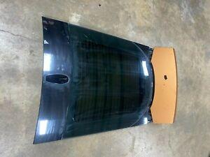 2015 Jaguar F-Type R X152 Rear Hatch Glass Decklid Lid Active Aero OEM 4986