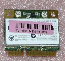 Toshiba PA3894U-1MPC - PCI Express WLAN Mini Karte 802.11b/g/n +  Bluetooth 3.0
