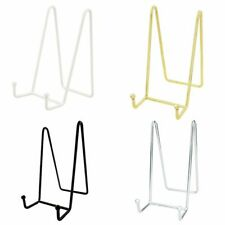 Small Plate Stand Display Holder Metal Mini Stands For Decorative Picture Book