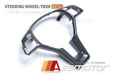 Mercedes Benz A B C E Class CLA CLS SLK SL GLK Carbon Fiber Steering Wheel Trim