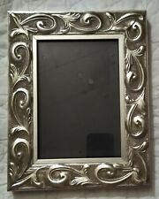 Mainstays 7.75� x 10� Plastic Picture Frame 5� x 7� Photo Silver Table Decor