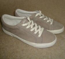 Women's PULL&BEAR Casual Trainers Size 3.5 UK NWOT Flats Grey Pull And Bear