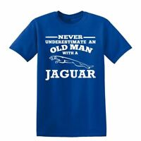 Jag Never Underestimate An Old Man  Mens T-Shirt
