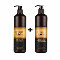 Argan Deluxe 100% Pure Moroccan Argan Oil Nourishing Shampoo & Conditioner 500ml