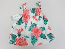 Carter's Girl's Floral Tie Tank 2T Multi  NWT