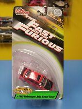 RACING CHAMPIONS FAST & FURIOUS  1995 VW JETTA STREET TUNER RED TOYO SERIES 8