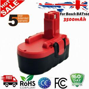 Battery Replace For Bosch BAT025 BAT026 BAT160 GSB GSR PSB PSR 18V 3500mAh NiMH