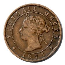 Canada PRINCE EDWARD ISLAND One Cent Token 1871  XF Breton-915