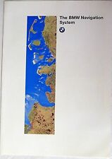 The BMW GPS Navigation System 1996 Colour Sales Brochure