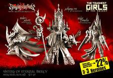 Raging Heroes Sisters of Eternal Mercy Heroines Box 3 (SF) -  40K Proxies