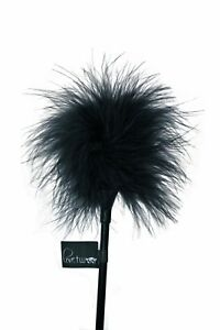 Lovetwoo Feather Tickler | Black or Red | S&M Play Bondage Fancy Dress