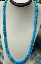 """Genuine Natural Egyptian Turquoise Necklace 24"""""""