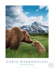 NEW! Grizzly Bear 18x24 Art Print Poster by Dobrowolski