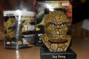 MARVEL THE THING MINI HEAD BUST STATUE SEALED