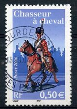 STAMP / TIMBRE FRANCE OBLITERE N° 3679 NAPOLEON 1° / CHASSEUR A CHEVAL