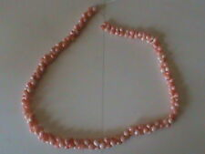 Vintage Angel Coral Beads Graduated Strand Dumbell Bead Or Dog Bone ALL Natural