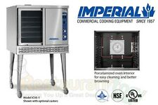 IMPERIAL COMMERCIAL CONVECTION OVEN SINGLE DECK STANDARD ELECTRIC MODEL ICVE-1