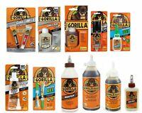 Gorilla Glue Multi-Purpose Products Wood Glue Super gel Tape Bond epoxy Sealant
