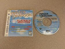PANZER DRAGOON PLAYABLE PREVIEW DEMO SEGA SATURN PS3 EX+NM!